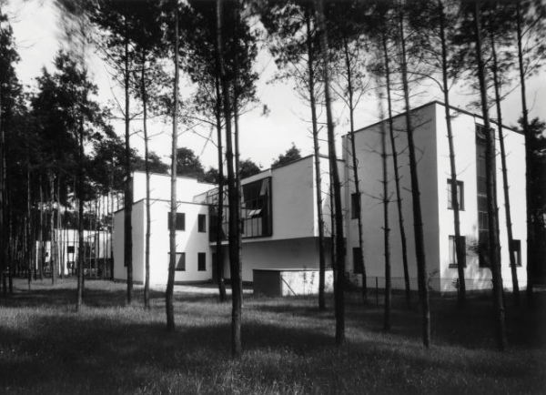 Bauhaus-masterhouses
